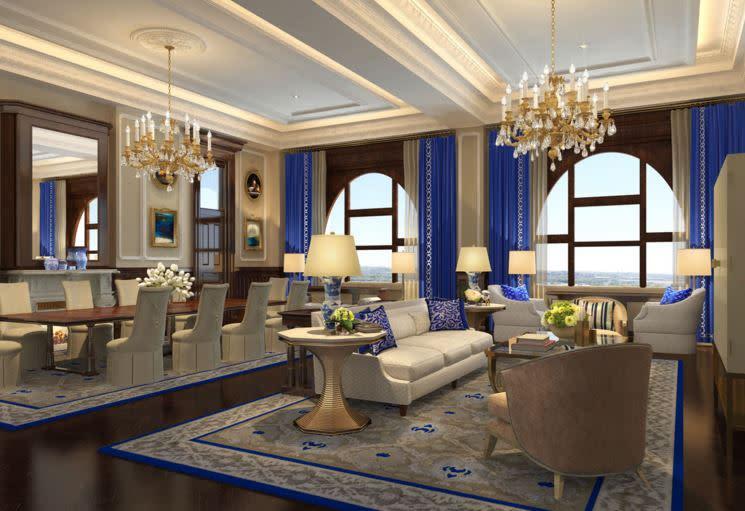 Presidential Suite Of The Trump International Hotel Washington D C