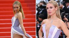 Reality star Kimberley Garner's shocking Cannes red carpet moment
