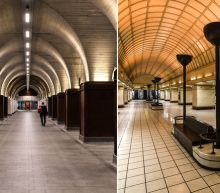 Pictures: Key worker's eerie photos of empty London during lockdown commute