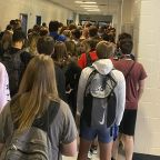 Suspension reversed for students who shared photos of crowded hallway