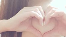 Turning your boobs into hearts is the latest social media craze