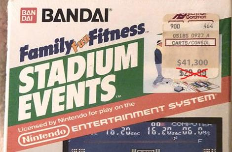 Stadium Events sells for $41,300, becomes most expensive NES game ever