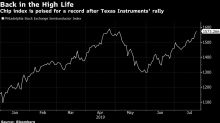 Chip Stocks Poised for Record as Texas Instruments Lifts Spirits