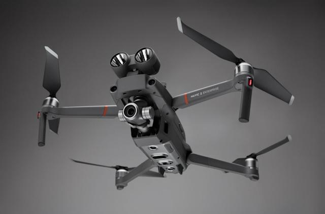 DJI's latest Mavic 2 drone is built for search and rescue