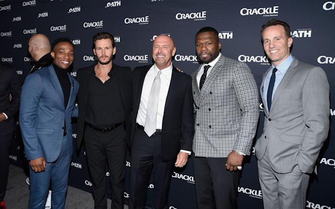 From the premiere of Crackle's 'The Oath' [Michael Tullberg/Getty Images]