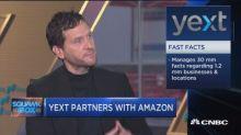 Yext partners with Amazon: CEO