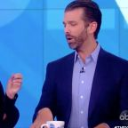 Donald Trump Jr.'s Very Loud 'The View' Visit Scores Bigly Ratings
