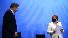 Merkel pide contención regional para impedir el pico de 19.200 contagios