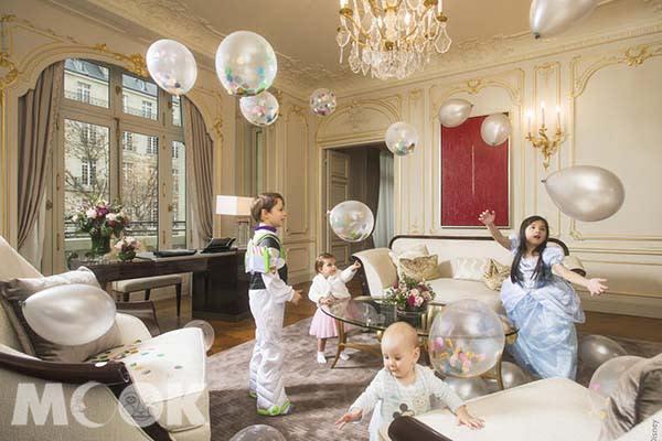 巴黎半島酒店與華特迪士尼公司合作,把迪士尼的神奇魔法活現。