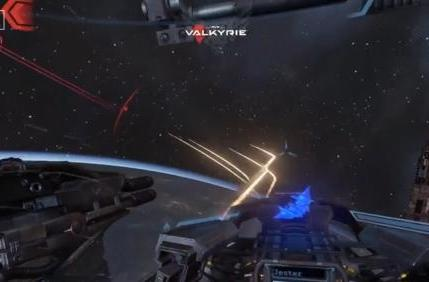 E3 2014: EVE: Valkyrie gameplay trailer brings war to the stars