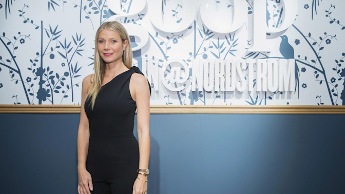 Gwyneth Paltrow's lifestyle website Goop forced to remove claims that 'energy' stickers feature Nasa technology