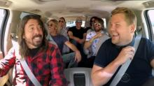 The Foo Fighters come 'full circle' on 'Carpool Karaoke'