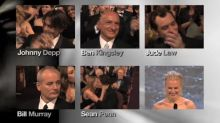 10 infamous Oscar losers who couldn't hide their disappointment