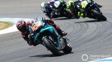 Quartararo shrugs off Yamaha engine problems