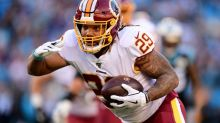 Derrius Guice goes unclaimed on waivers