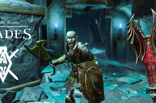 'The Elder Scrolls: Blades' hits iOS and Android in early access