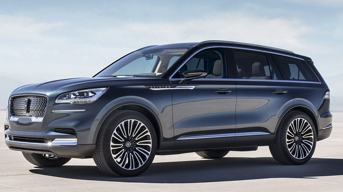 all new lincoln aviator suv prepares to take flight. Black Bedroom Furniture Sets. Home Design Ideas