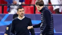 Chelsea manager Thomas Tuchel clashes with Sergio Conceicao after 'insult'
