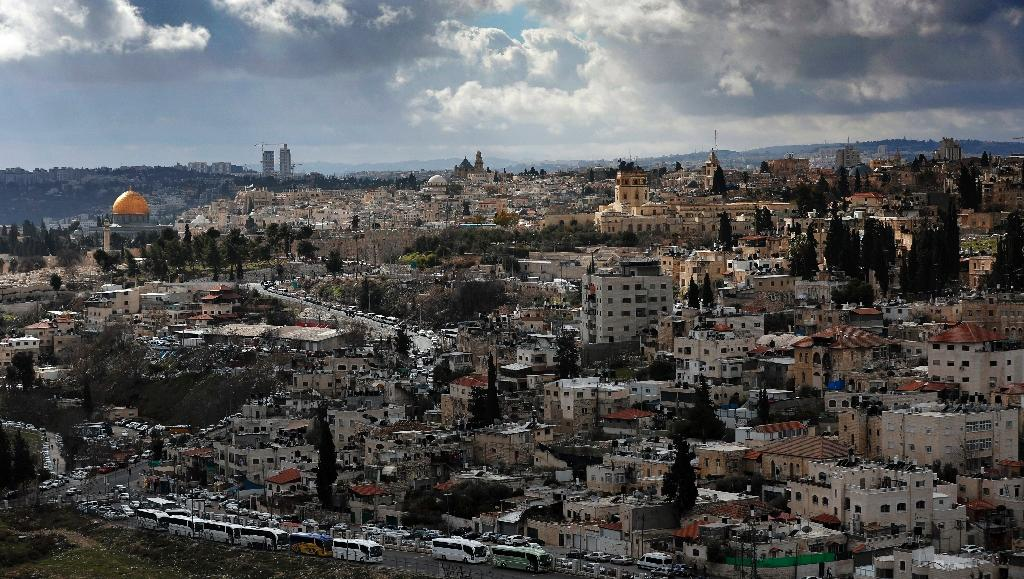 The status of Jerusalem, the Old City area of which is seen in January 2017, is one of the thorniest issues in the decades-long Israeli-Palestinian conflict