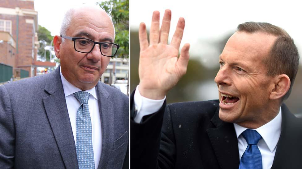 Accountant admits corkscrew attack on Tony Abbott volunteers