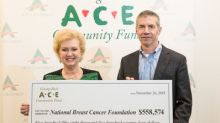 ACE Cash Express and Netspend Team up to Raise $558,574 for the National Breast Cancer Foundation's Helping Women Now Program