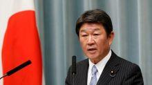 Motegi says Japan will host next round of TPP talks Oct 30-Nov 1