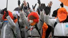 Umweltschützer besetzen hessische Landesvertretung in Berlin