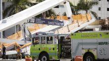 Nach Brückeneinsturz drei Tote aus Fahrzeugen geborgen