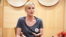 Actress Charlize Theron dreams of AIDS-free S.Africa