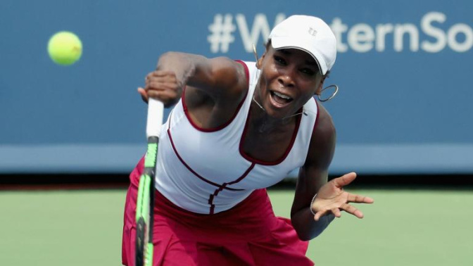 Venus Williams and Angelique Kerber are beaten as the stars go out at Cincinnati Open