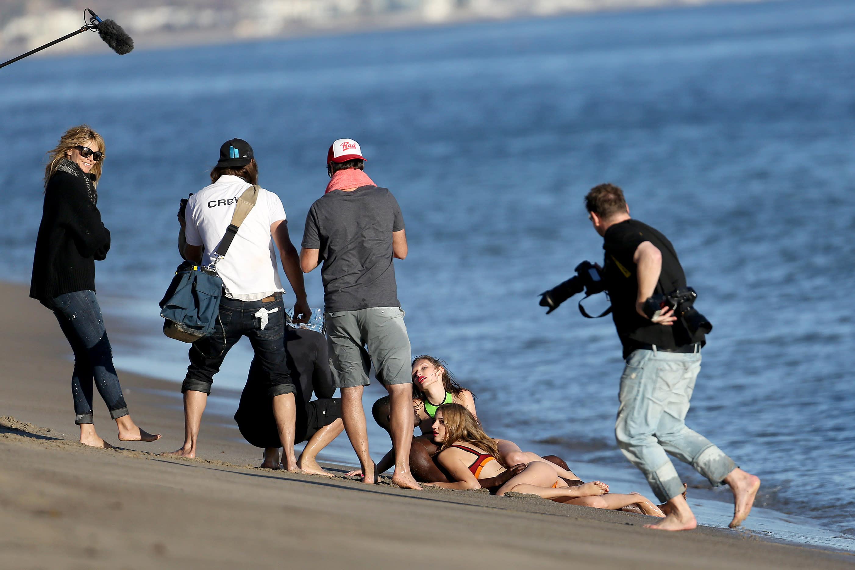 Dreier An Dem Strand