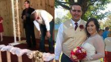 Viral: más de 6 millones de personas ya vieron este tierno video de una novia rumbo al altar