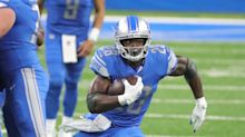 Detroit Lions' Adrian Peterson critical of his big day in 1st start at RB