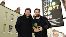 Michael Ball and Alfie Boe score early Christmas chart success