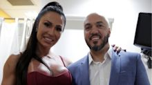 Belo faz surpresa para Gracyanne Barbosa com bolo de aniversário fitness