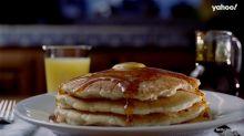 Quer dar uma variada no seu café da manhã? Que tal fazer panquecas?