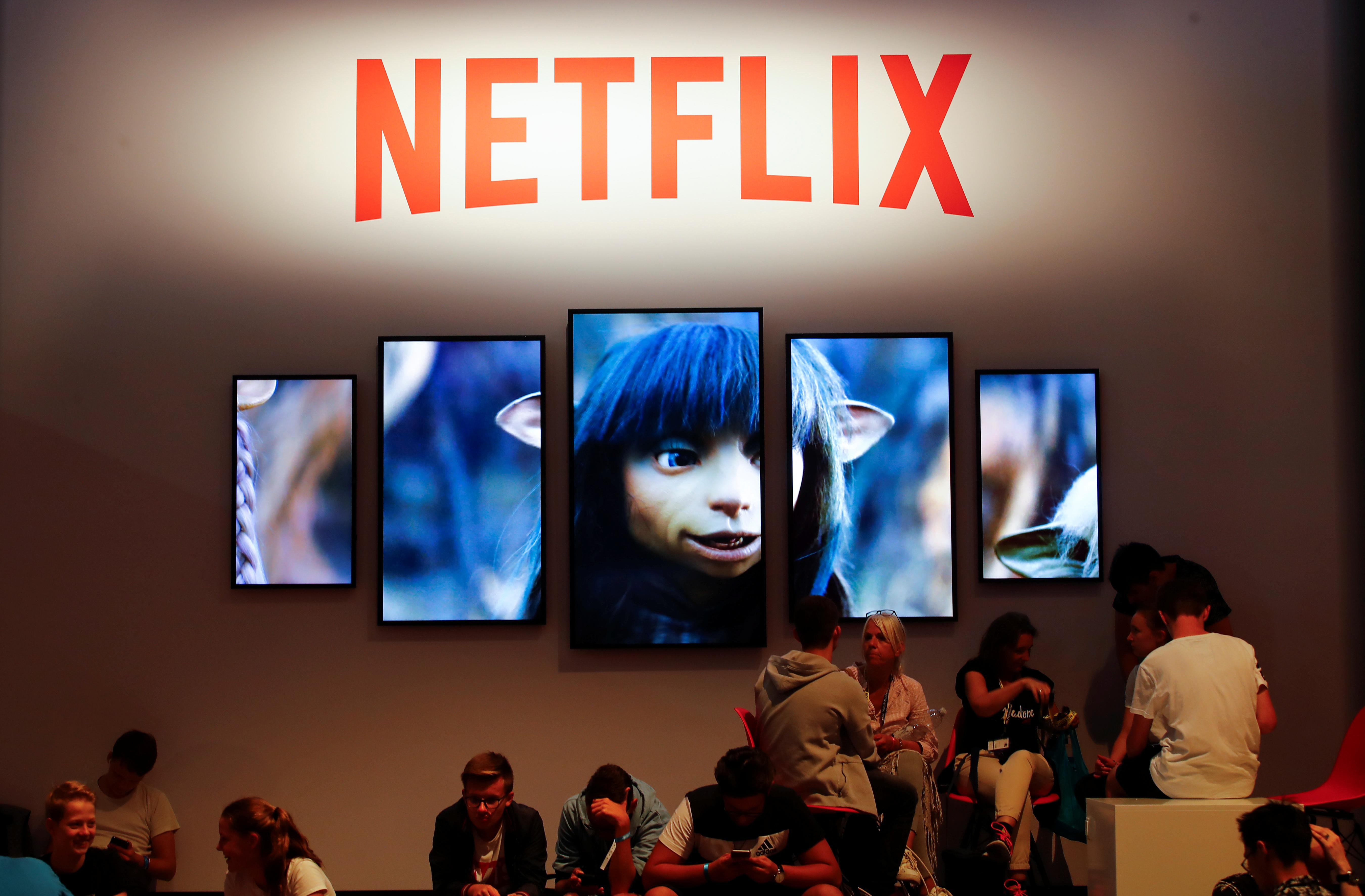 netflix investors are fleeing the stock amid onslaught of