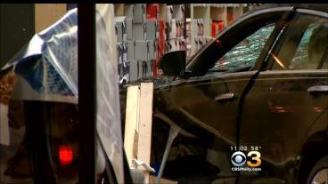 BREAKING: Car Slams Into Shoe Store On Main Line