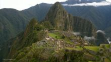 Six tourists have been arrested over accusations that they damaged Peru's cultural heritage