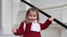 Hier läuft Prinzessin Charlotte zum ersten Kindergarten-Tag