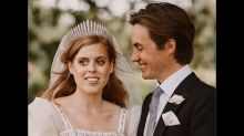 Princess Beatrice's Wedding Gown And Tiara Are From The Queen's Closet; Here Are The Details