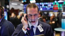 Global stocks falter on trade uncertainty; sterling gains