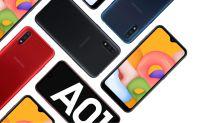 Galaxy A01: encontramos o celular da Samsung em oferta