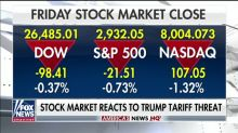 Stock markets tumble after Trump threatens new tariffs on China