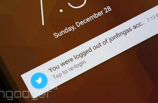 Twitter login bug kicks users out (update: resolved)