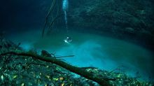This Underground River In The Middle Of A Mexican Jungle Is Mesmerizing