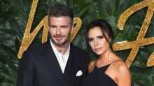 Victoria Beckham's photo of David and Harper reignites debate about kissing children on the lips