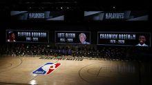 NBA returns with tribute to Chadwick Boseman, Clifford Robinson, Lute Olson
