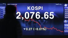 Asian shares meander, oil lower ahead of US midterms vote