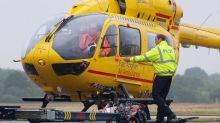 Prince William flying for the last time overnight as an air ambulance pilot